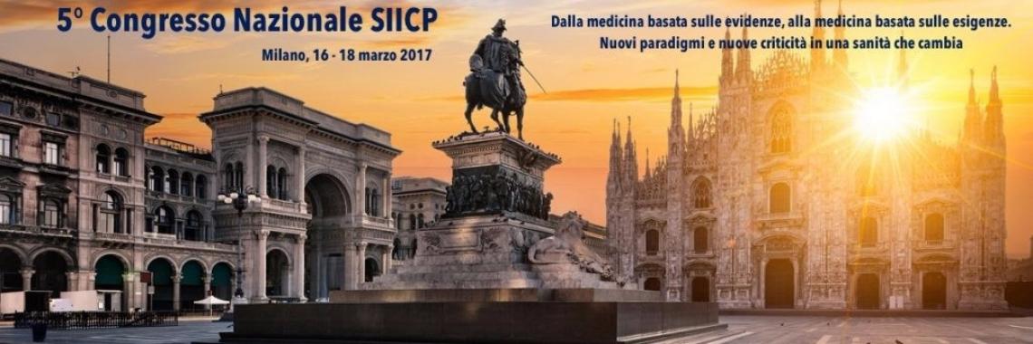 V Congresso Nazionale SIICP - Milano, 16-18 Marzo 2017